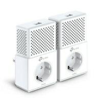 TP-LINK TL-PA7010P 1000 Mbps Powerline Adapter KIT Front-Steckdose LAN-Port