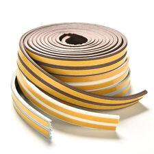 Burlete cinta de caucho adhesivo de 5 metros ventanas puertas E/D/I-tipo nuFWS