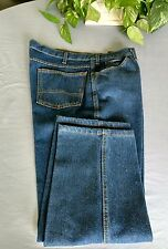 38 X 29 unbranded dark blue jeans all cotton