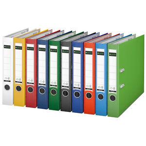 Klassischer Leitz Ordner 1015 in verschiedenen Farben vollfarbig