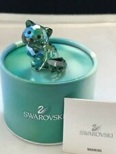 Swarovski Crystal Figurine Lovlots Andy The Cat 1119923 Mib
