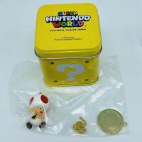 Super Mario Bros Hatena Tin Box Toad Nintendo World UNIVERSAL STUDIOS JAPAN 2020