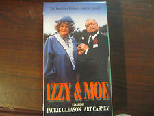 IZZY AND MOE VHS NEW/SEALED JACKIE GLEASON ART CARNEY