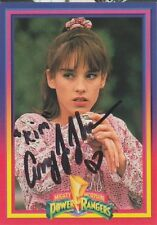 Amy Jo Johnson authentic signed Power Rangers autograph auto card JSA COA