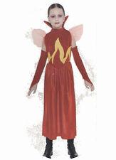 Diablesse flammes deguisement enfant 5 ans  fete halloween deguisement vampire