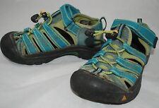 KEEN Kids Newport H2 Sandals Caribbean Sea Teal Blue Size 12 Youth Boy Girl