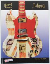 Julien's Auction Catalog: Gibson Guitartown London November, 2007