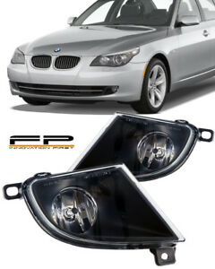 2008-2010 BMW 5 Series E60 Front Replacement Fog Lights Housing Assembly Pair