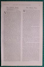 1900 BOER WAR ERA 31st MARCH NAVY & ARMY ARTICLES BRITISH EMPIRE WHITE FLAG