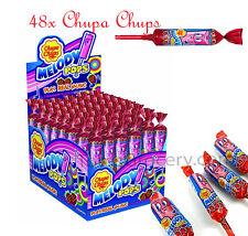 48x CHUPA CHUPS Melody Pops Lollipops - Strawberry Flavor - 750g 25oz