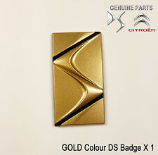CITROEN DS3 DS4 DS5 Oro Ala frontal color insignia Genuino Nuevo