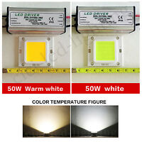 50W LED SMD Chip Bulbs + LED Driver Transformer Power Supply IP65 For Floodlight