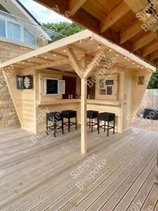 HIDEAWAY GARDEN BAR / SUMMER PARTY / MAN CAVE / SHELTER MADE TO MEASURE !