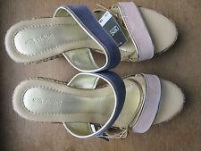 Next Faux Suede Platforms, Wedges Women's Sandals & Beach Shoes