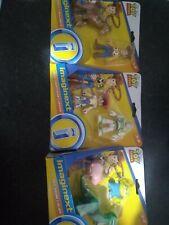 Imaginext Toy Story 4 Figure BUZZ LIGHTYEAR JESSIE WOODY BULLSEYE +REX HAM ALIEN
