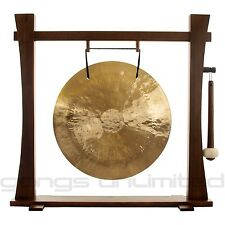 """22"""" Wind Gong on Spirit Guide Gong Stand with Mallet"""