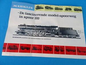 MARKLIN Leaflet NL 1967