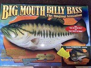 Gemmy Big Mouth Billy Bass Singing Fish