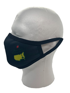 The Masters Golf Washable Face Mask Black Cloth Comfortable Reusable Sealed New.