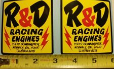 R&D Racing decal stickers YZ CR RM KX 125 250 360 400 465 500  AHRMA Vintage