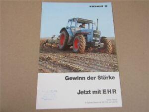 Prospekt Eicher Wotan 3108 3125 3145 T AS 4 6-Zylinder Diesel 108 125 und 145 PS