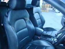 AUDI A3 BLACK LEATHER FRONT & REAR SEATS & DOOR TRIMS 8P, S3 06/04-02/13
