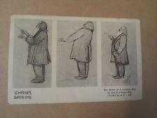 antique post card BRAHMS, Breitkopf & Haertel