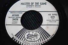 """ARTHUR SMITH 45rpm """"Master of the Game"""" & """"Travelin Blues"""" Starday Records"""