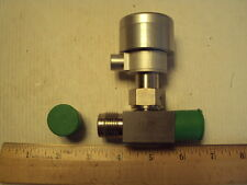 """1/2"""" Nupro SS-8BK-VCR-1C Air Operated Valve unused, 1/2 Male VCR in-out"""