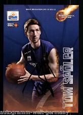 Tom Spöler BBC Bayreuth 2012-13 TOP AK Original Sign. Basketball +A 58294