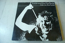 "EDDIE &THE HOT RODS""Life on the line-disco 33 giri ISLAND italy 1977"""