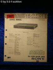 Sony Service Manual ST S444ESII Tuner  (#0657)