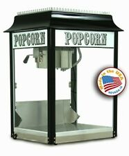 Popcorn Machine Popper Paragon 1911 8 oz Black & Chrome