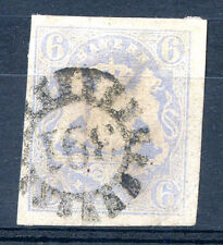 "GERMANY BAVARIA Yvert # 17 Cachet ""391"" (a little thined)"