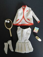 Vintage Barbie 1962 Tagged Tennis Anyone Outfit Almost Complete