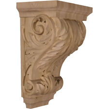 """Acanthus Pilaster Large Wide Corbel, 8 1/2"""" X 6 1/2"""" 14"""""""