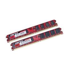 Genuine Kinbox Speed 4GB DDR2 240 PIN RAM DIMM 1.8V Desktop PC RAM | 2x2GB