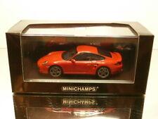 MINICHAMPS PORSCHE 911 TURBO 997 II generation 2010 -RED 1:43 - EXCELLENT IN BOX