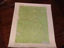 1955 US DEP OF INTERIOR TOPO MAP LOT #50, CHUCKSNEY MTN. OREG.