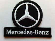 MERCEDES BENZ GERMAN MOTORSPORT RALLY RACING CAR EMBROIDERED PATCH UK SELLER