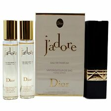 CHRISTIAN DIOR J'ADORE REFILLABLE EAU DE PARFUM PURSE SPRAY 3X20ML/3X0.67 OZ.NIB