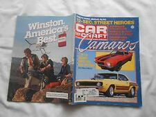 CAR CRAFT Magazine-JUNE,1984-CAMAROS-Z/28 I.D.-HISTORY-RESTO TIPS-RARE OPTIONS
