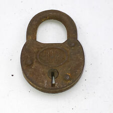 Corbin Padlock Iron or Steel Antique/Vintage