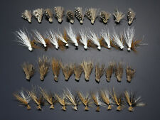 40Pcs Elk Wing Caddis Dry Flies Trout Fly Fishing Lures H037