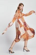 Bnwt Zara Oversized Dress With Bow Detail.sz Large.fits Uk 14-16-18
