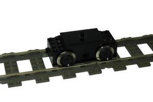 Lego 9V Eisenbahn TRAIN Lok 9V Motor in SCHWARZ ENGINE