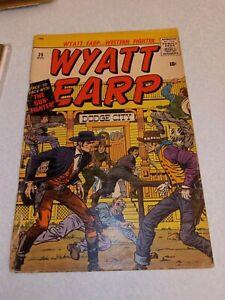 Wyatt Earp #25 1959 Jack Kirby GUNSMOKE KID Atlas comics Western silver age colt