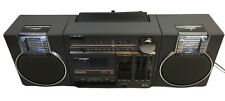 Vintage Philips Boombox D8234 Ghetto Blaster Radio Cassette Player Compact Tuner