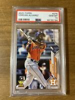 2020 Topps Series 1 #276 YORDAN ALVAREZ Rookie Card PSA 10 GEM MINT RC