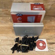 Lacie D2 Big Disk Extreme 500 GB Firewire 800/400 Fast Seek Time External HDD